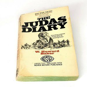 The Judas Diary by W Howard Baker 1969 Vintage War